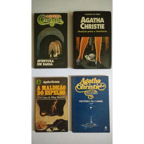 4 Livros Agatha Christie Miss Marple Etc Frete Grátis