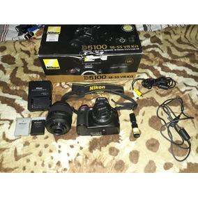 Câmera Nikon D5100 + Lente 18 55 Usada Bem Conservada 25 K