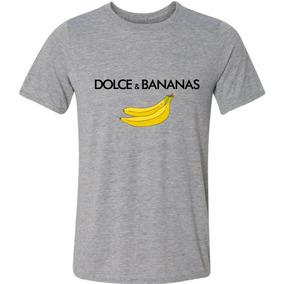 Camiseta Logo Banana Paródia Marca Roupas