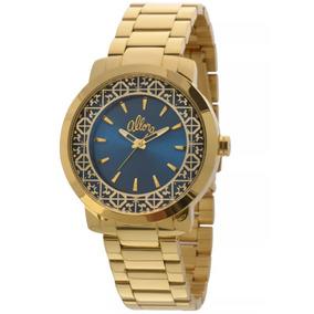 Relógio Feminino Allora Al2035eyz/4a Dourado