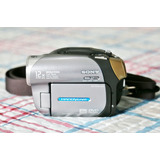 Câmera Digital Sony Handycam Dcr-dvd203, Zoom 12x + Bolsa