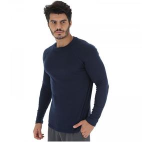 8e55ba9e1d Camisa Térmica Segunda Pele Nord Outdoor Under Basic - Azul