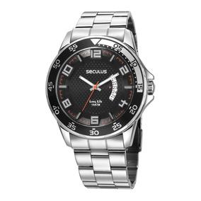 Relógio Seculus Masculino 28961gosvna2
