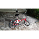 Vendo Bicicleta Elétrica Aro 20 Blitz Jet Dobrável