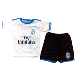Kit Conjunto Camisa Real Madrid Modric Casemiro Cr7 Promocao 3ef276204c25a