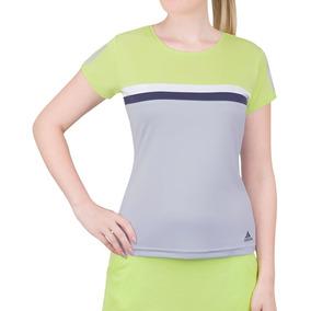 Camiseta adidas Club Verde Limão E Azul Claro ecd94e8fec4eb