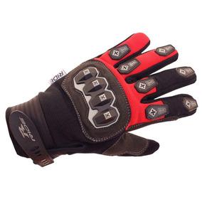 8267e07cc2fb6 Guantes De Motociclismo Ride Rojos negro Talla S
