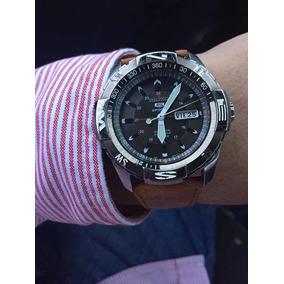 De$3700 A $3390 Solo Hoy 14mar Reloj Seiko Automático, Piel