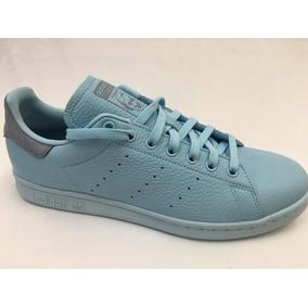 Tenis adidas Stan Smith Azul Piel Vacuno Caballero