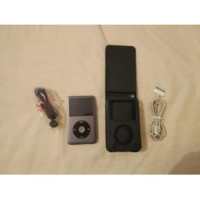 Ipod Classic 160gb Preto 7a Geração Dual Boot Rockbox Usado