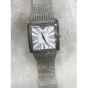 8589e8fd43e Relogio Empório Armani Ar0143 Classico Quadrado - Relógios De Pulso ...