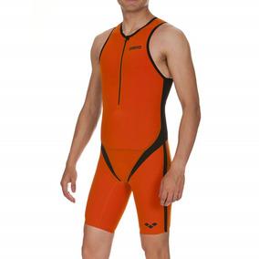 Macaquinho Masc Arena Para Triathlon Trisuit Carbon Pro Fro