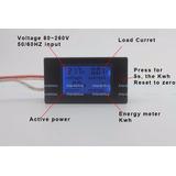Wattimetro Voltimetro Amperimetro Ac Kwh 100a 80~260v + Tc