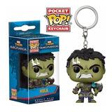 Funko Pop - Thor - Loky - Hulk - Keychain - Llavero