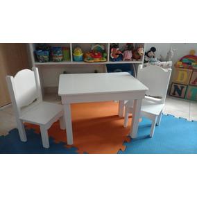 Mesita Infantil De Madera Y Mdf C/sillas,entrega A Confirmar