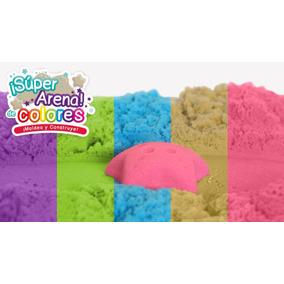 Super Arena Cinética 1 Kg Moldeable Colores