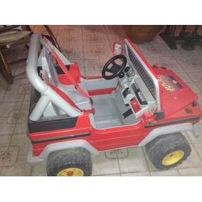 Carro Electrico Jeep 2 Puestos Todos Sus Accesorios Oferta