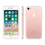 iPhone 7 Apple 32gb Ouro Rosa 4g Tela 4.7 Retina - Câm. 12m
