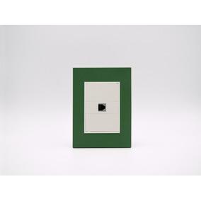 Placa Bauhaus Verde, Toma Telefónica, Linea Premium