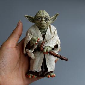 Mestre Yoda Satar Wars Miniatura