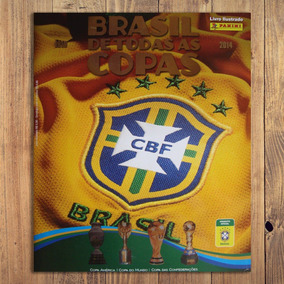 Álbum Brasil De Todas As Copas Completo Coladas