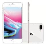 iPhone 8 Plus Prata Silver 256gb Anatel Lacrado Nota Fiscal