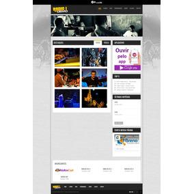 Script Php, Website Responsivo Rádio Online Com Painel