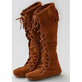Con México Minnetonka Zapatos De Flecos Botas Mercado En Libre Mujer Z7x7zg5wq