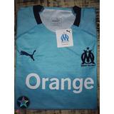 Camisa Futebol Original Uniforme 3 Olympique Marseille 18 19