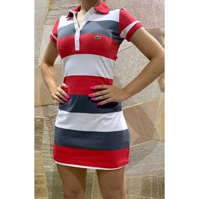 199dc76cc9bb6 Vestido Lacosta Feminina Tamanho G - Vestidos Casuais Curtos G ...