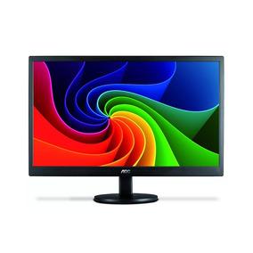Monitor Para Pc 18,5 Polegadas Hd Led E970swnl Aoc Preço Top