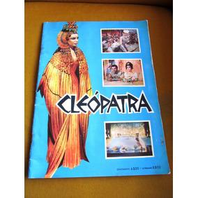 Album Raro Figurinhas Filme Cleópatra Elizabeth Taylor 1963