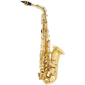 Odyssey Oas130 Alto Sax Saxofón Dorado Serie Debut C/estuche