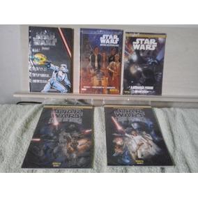 Star Wars Lote De 5 Hqs Todas Lacradas De Banca!!!