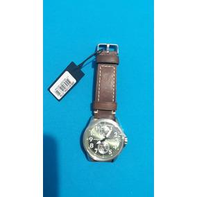 Relógio Masculino Orient Analógico Mbscm010 E2nb Couro Marr