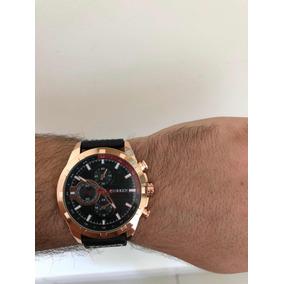 f8159cf97da Relogio Curren Masculino Gold - Relógios no Mercado Livre Brasil