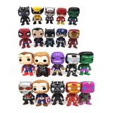 Muñecos Funko Pop Avengers Superheroes Spiderman Hulk Thor !