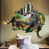 Dinosaurios Jurassic Park Parque Jurásico Vinil Decorativo