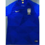 Camisa Seleção Brasileira Azul 2018/2019 Original