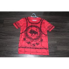 Camiseta Dolce & Gabbana Bull Tamanho P Com Nota Fiscal.