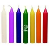 Velas Para Armonizar Los Chakras 7 Colores Reiki Meditacion