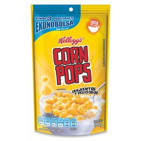 Cereal Kelloggs Corn Pops Ekonopack 100 Grs.