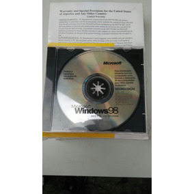 Windows 98 Original Com Serial - Raridade