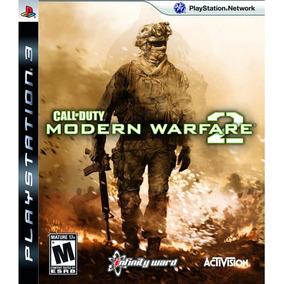 Call Of Duty Modern Warfare 2 Mw2 Ps3 Original Mídia Física