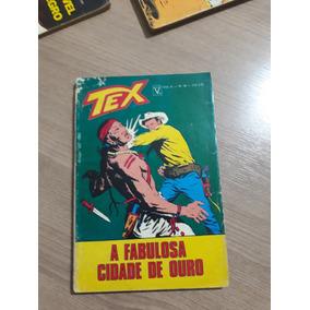 Tex Nº 36 - A Fabulosa Cidade De Ouro 1ª Edição