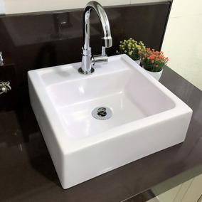 Cuba De Apoio Para Banheiro Branca Modelo Ferrara