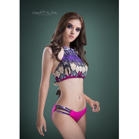 Bikini Halter Multicolor