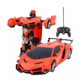 Transformers Lamborghini Carrinho Robo Controle Remoto Etaqi