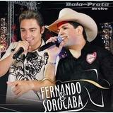 Cd Discografia Fernando & Sorocaba 140 Musicas.