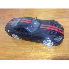 Miniatura Metal 1:24 Dodge Viper Srt 10 Colecionável
